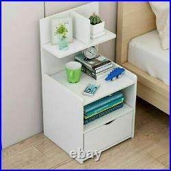 Modern Bedside Table Drawer Cabinet Bedroom Furniture Storage Chests Drawers
