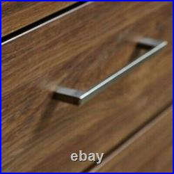 Modern Chest 3 Soft Close Drawers Storage Bedroom Cabinet Medium Oak Finish Gent