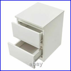 Modern Chest Of Drawers Bedside Cabinet Tall Wide Storage Bedroom Furniture