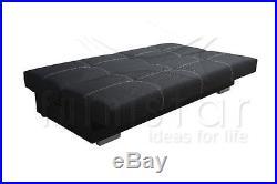 Modern SETTEE Sofa Bed COUCH VIKI storage SEATER BONELL SPRINGS polskie wersalki