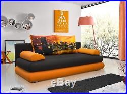 Modern Settee Couch Sofa Bed Alex Storage Bonell Springs Kids Wersalki