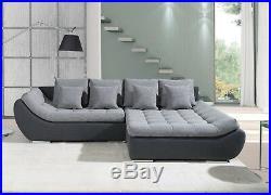 Msofas Hugo Modern Bering Fabric 2 Seat Corner Lh/Rh Modern Sofa Bed Storage