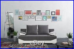 NEW Modern Sofa Bed MATREI SETTEE storage COUCH BONELL SPRINGS POLSKIE WERSALKI