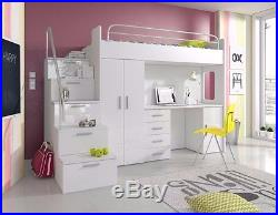 New Bedroom set furniture Kids Children Bunk Bed Storage with Drawer ...
