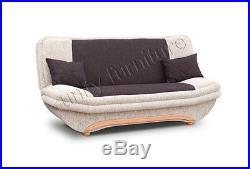New Click-Clack Sofa Bed SAMBA With Storage Wersalka / Polskie Wersalki