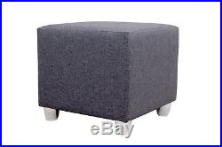 New Corner Sofa Bed With Storage Faux Leather Grey White Ikea Large Naroznik