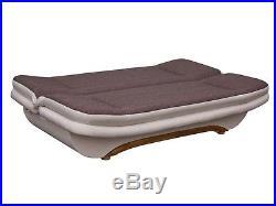 New weronika fabric sofa z funkcja spania bed with storage in grey