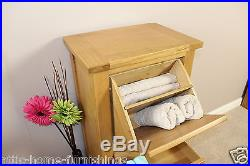Oak Storage Cupboard Shoes Linen Bathroom Hallway Bedroom