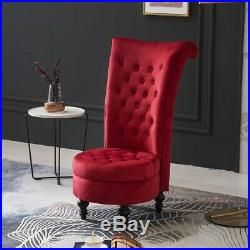 Occasional Accent Chair Throne Armchair Dressing Table Stool High Back Storage