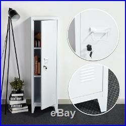Office Storage Cupboard Metal Filing Cabinet Tool Locker Furniture Organizer