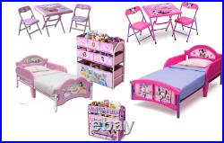 Official Disney Princess Junior kid girls Room in a Box, Bed, Table, Chairs, Storage