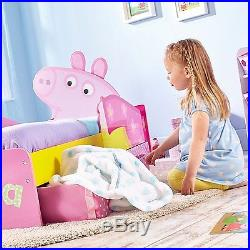 Peppa Pig Bed Underbed Storage Toddler Kids Childrens Bedroom Furniture Drawers