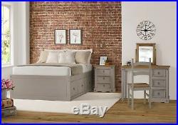 Premium Corona Solid Pine Grey Wash Bedroom Furniture PLUS Free UK Delivery