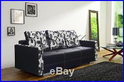 QUALITY SETTEE COUCH Sofa Bed BONA with storage BONELL SPRINGS POLSKIE WERSALKI