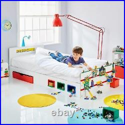 Room 2 Build Single Bed With Storage Childrens Creative Features Building Blocks