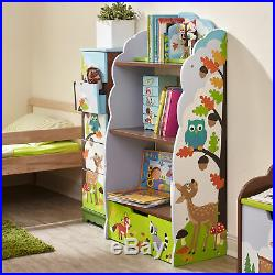 SOLD OUT Fantasy Fields Childrens Blue Kids Wooden Bookcase Book Shelf Storage T
