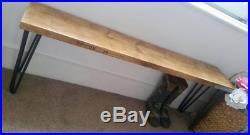 Scaffold Board Bench Industrial Style Bench Hairpin Legs Hallway Storage