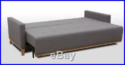 Scandinavian Settee Sofa Bed Couch Ariel Storage High Quality Three Seater