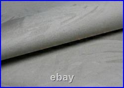 Serene Grey Suede Divan Bed Base Drawers Storage Headboard Double King