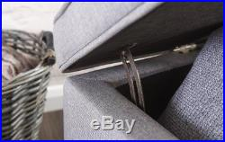 Shabby Chic Storage Bench Bedroom Vintage Ottoman Window Seat Hallway Furniture