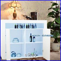 Sideboard LED High Gloss Large Black White Cupboard Storage Cabinet Furniture UK