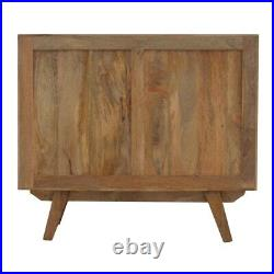 Sideboard Solid Wood Cabinet Cupboard Storage Grey Painted Drawers