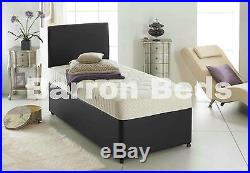 Single Divan Bed 3FT With Mattress With drawers Option kids & adults & CHILDREN