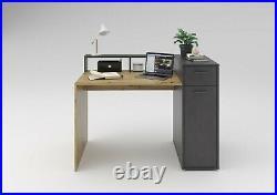 SlumberHaus'Quebec' Home Office Computer Laptop Desk Workstation With Storage