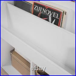 SoBuy Children Kids Bookcase Book Shelf Storage Display Rack Holder, KMB01-W, UK