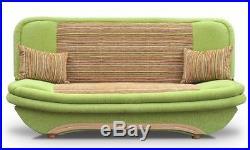 Sofa Bed SAMBA Green Africa with storage Wersalka /Polskie Wersalki