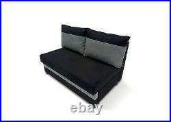 Sofa Bed Two Seater Pull Out No Arm Storage Bonell Children Kids Guest Bedroom