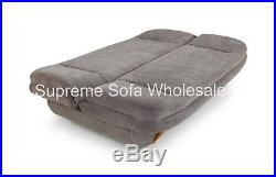 Sofa Weronika 2 Seater Sofabed + Storage + Easy Pull Out Bed Grey Fabric