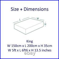 Suede Divan Bed Base Under Bed Drawers Storage Cubed Headboard Grey Cream