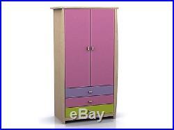Sydney Childrens Bedroom Range Pink or Blue Storage Bed, Wardrobe, Desk, Chest