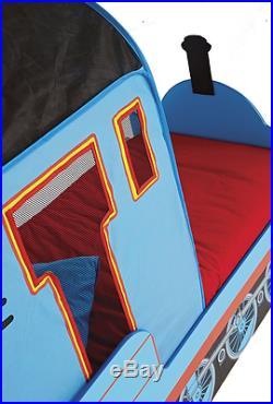 Toddler Bed + Mattress Thomas The Tank Engine Storage Children Boy Kids Bedroom