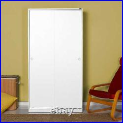 Traditional 70s Furniture Bedroom Storage Sliding Door Wardrobe Matt White
