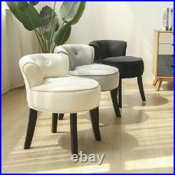 Vanity Chair Makeup Dressing Stools Bedroom Footstool Wooden Velvet Chairs New