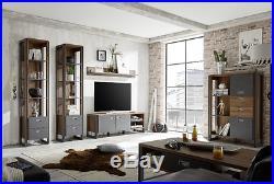 Vintage Display Unit Industrial Style Furniture Large Cupboards Storage Cabinet