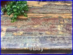 Vintage Pine Chest Trunk Blanket Box Storage Coffee Table