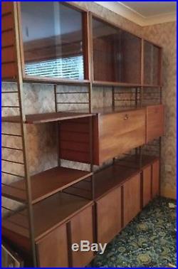 Vintage Staples Ladderax Modular Shelving and Storage System