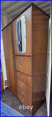 Vintage Symbol Wardrobe, tallboy, storage, childs Wardrobe, Retro