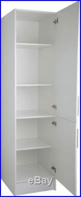 Wooden Kitchen Cabinet Cupboard Unit Tall Organiser Shelves Storage Furniture