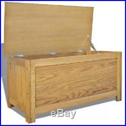 Wooden Storage Chest Large Blanket Box Hallway Organiser Trunk Living Room Table