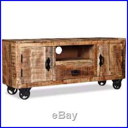Wooden TV Stand Cabinet Media Console Display Storage Unit Living Room Furniture
